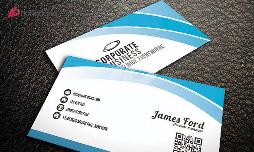 Thiết kế in ấn card visit ấn tượng tại Hồng Đăng