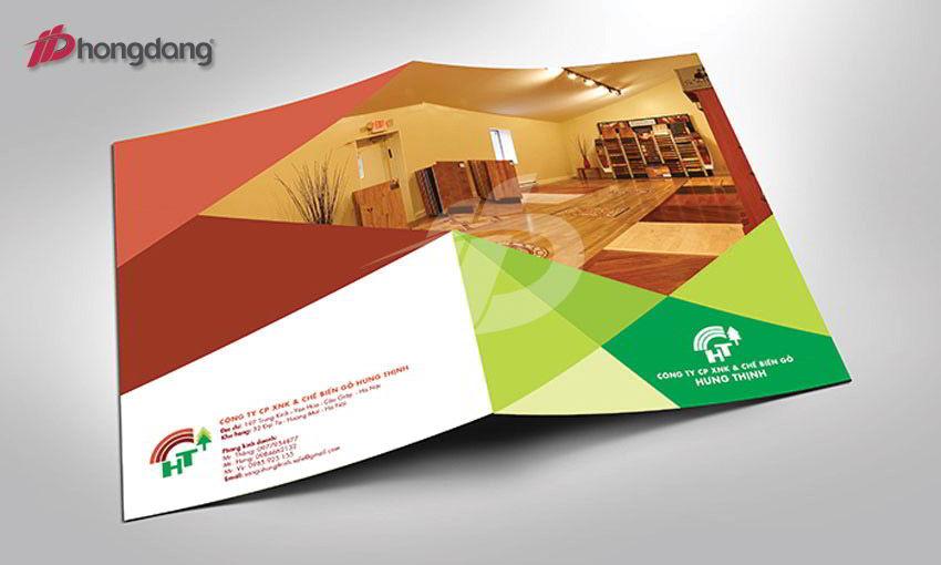 Mẫu brochure 07