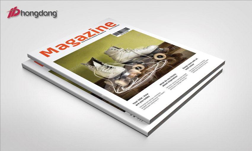 Mẫu sách, tạp chí 10