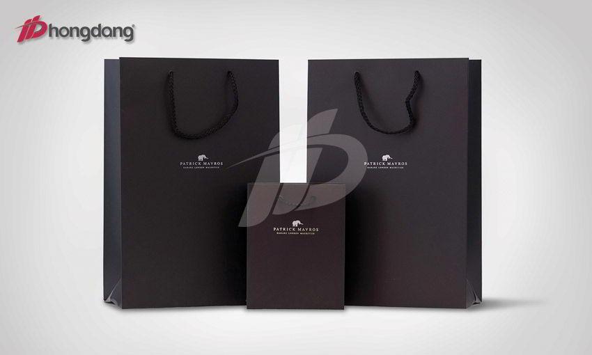 Mẫu túi giấy 08