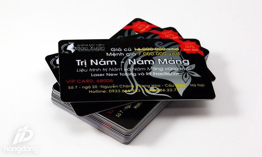 in thẻ nhựa tại Hà Nội