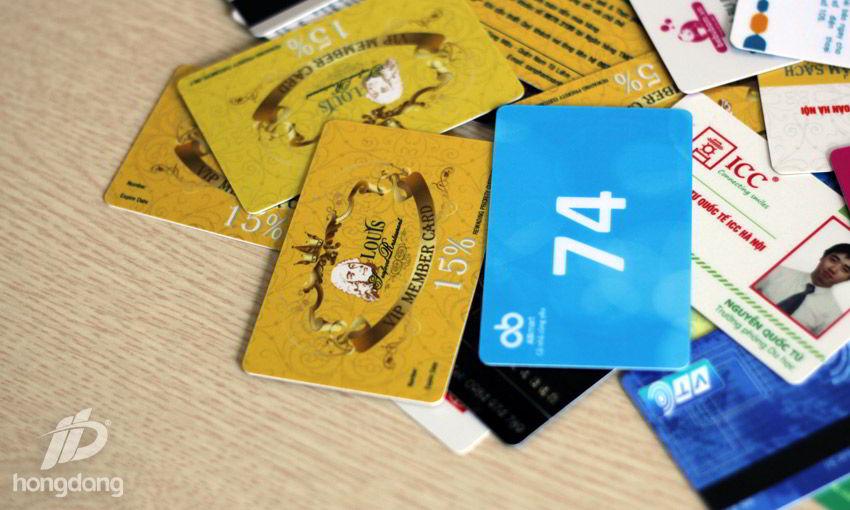 In thẻ nhựa giá rẻ tại Hà Nội