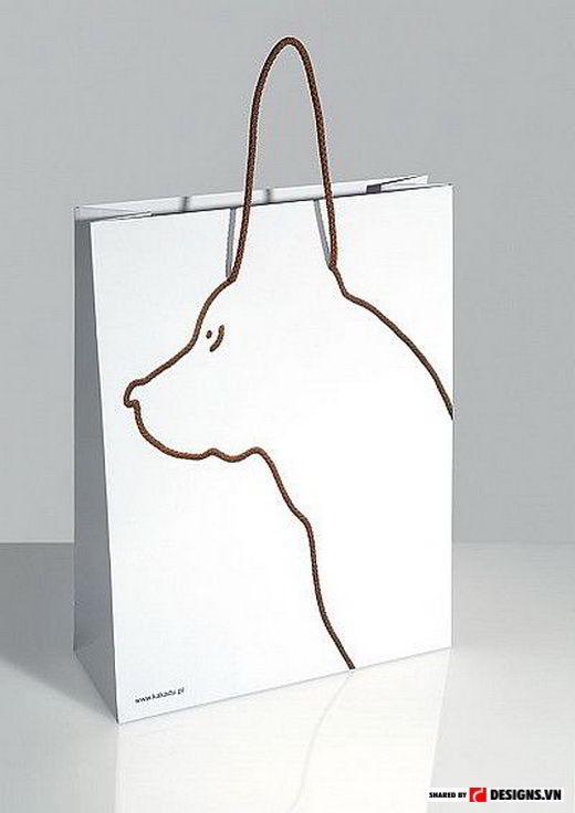 7 mẫu thiết kế túi giấy, túi đựng hàng cực sáng tạo