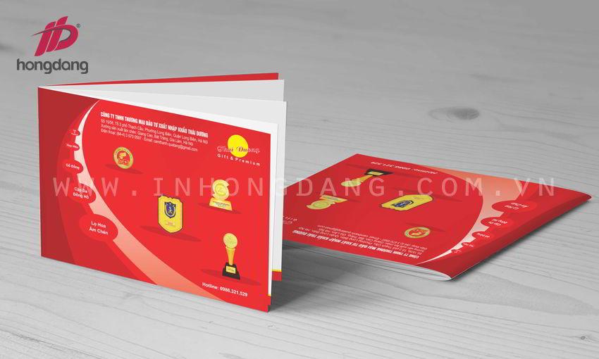 Mẫu thiết kế catalogue - profie đẹp