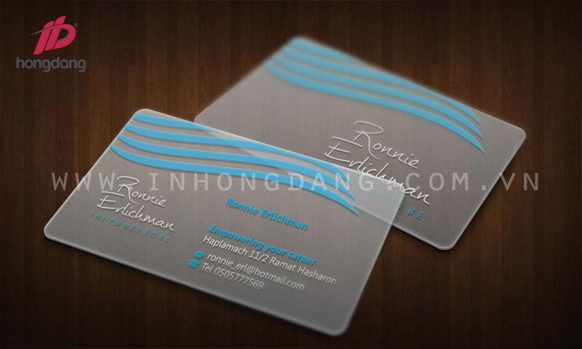 Thiết kế card visit chuyên nghiệp
