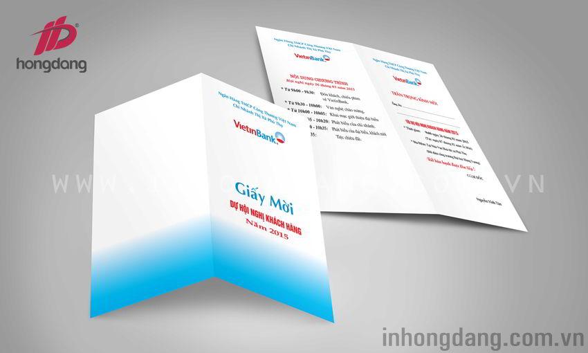 mẫu giấy mời, thiệp mời đẹp