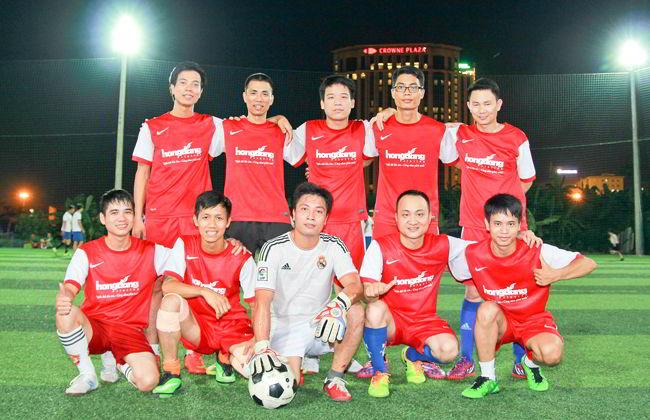 Giải bóng đá phong trào tranh cup ngành In