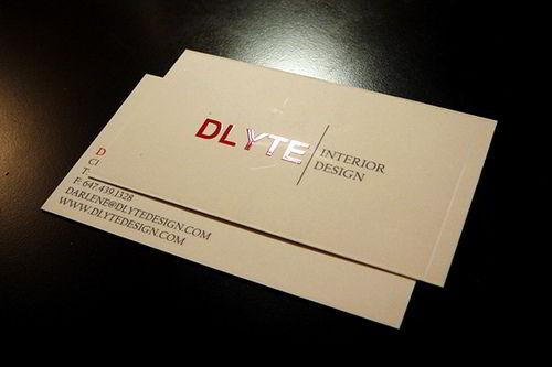 Thiết kế card visit trên giấy mỹ thuật cao cấp