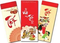 In bao lì xì mang đậm phong cách Việt