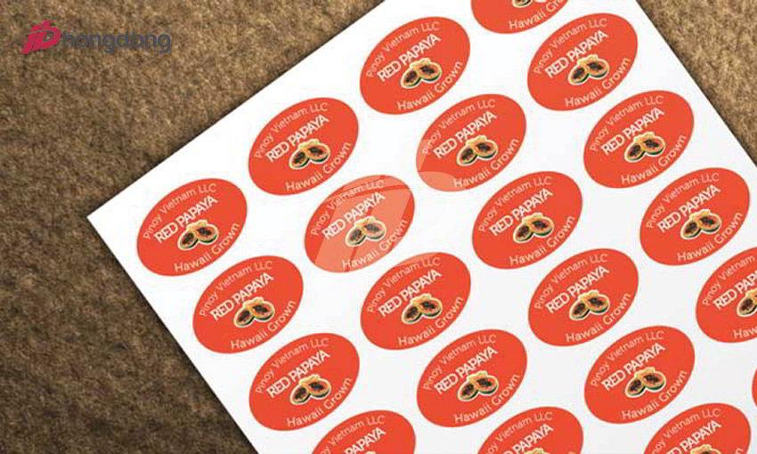 In tem decal được làm từ chất liệu gì