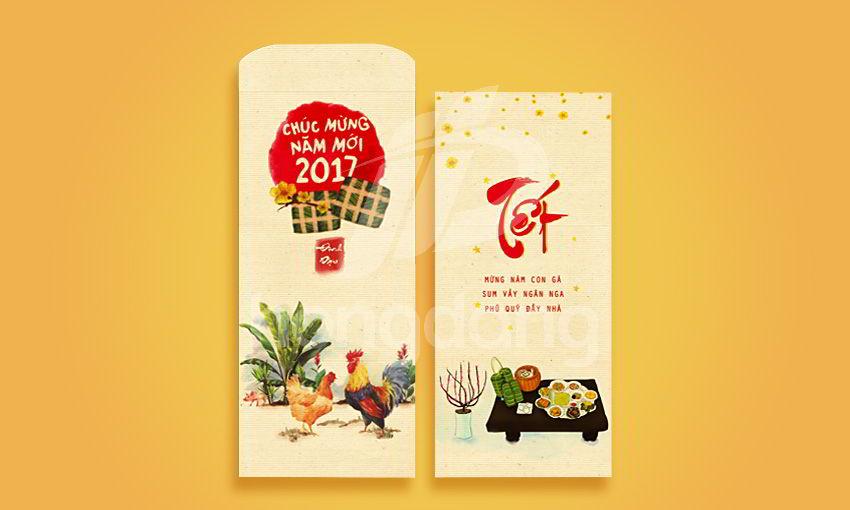 In bao lì xì 2018 tại Hà Nội