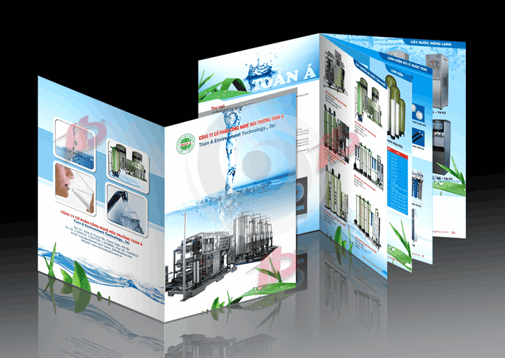 Giới thiệu sản phẩm, thương hiệu doanh nghiệp qua in Catalogue đẹp