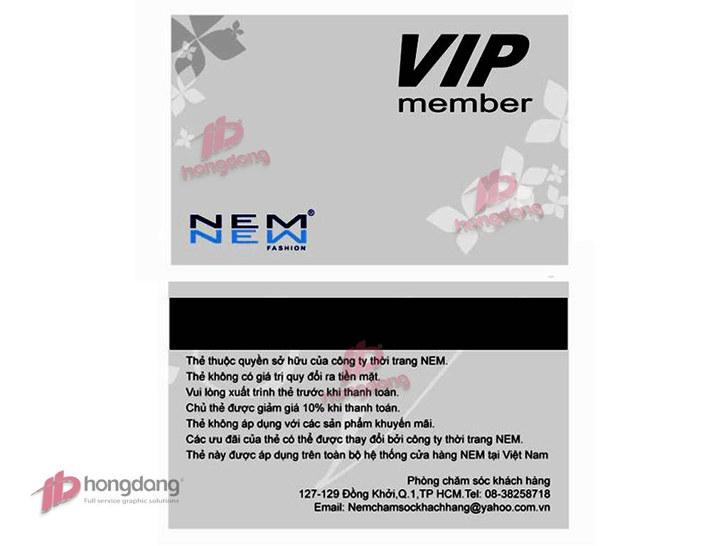 In thẻ Membership card tại Hà Nội