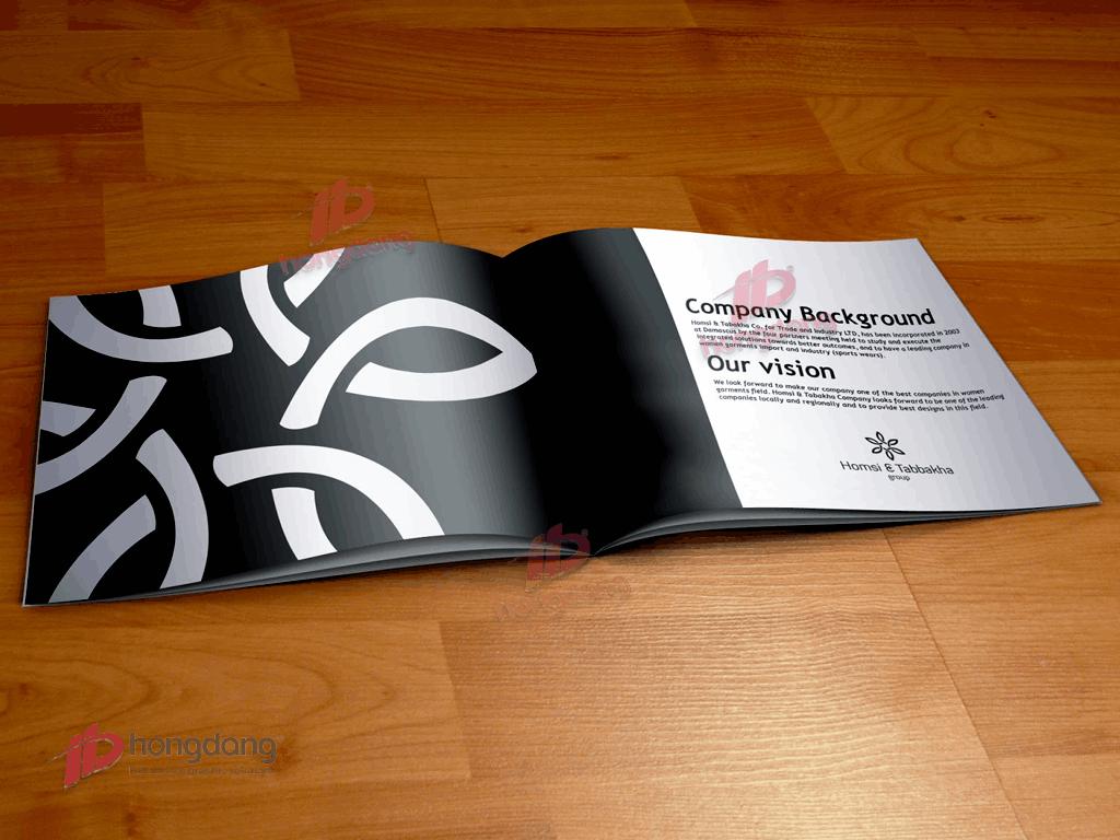 Thiết kế và In catalogue cho Mỹ Phẩm Tóc MaxTop