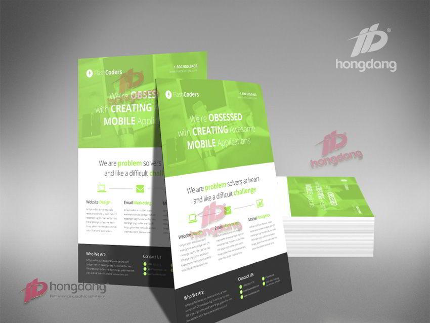 Quảng cáo hiệu quả bằng in tờ rơi, in Flyer giá rẻ tại Hà Nội
