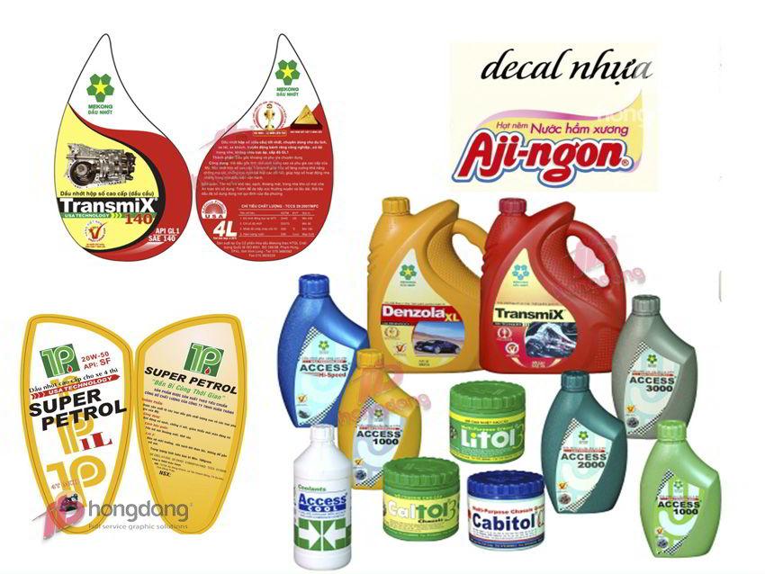 Vai trò quan trọng của in tem nhãn trong tiếp thị sản phẩm