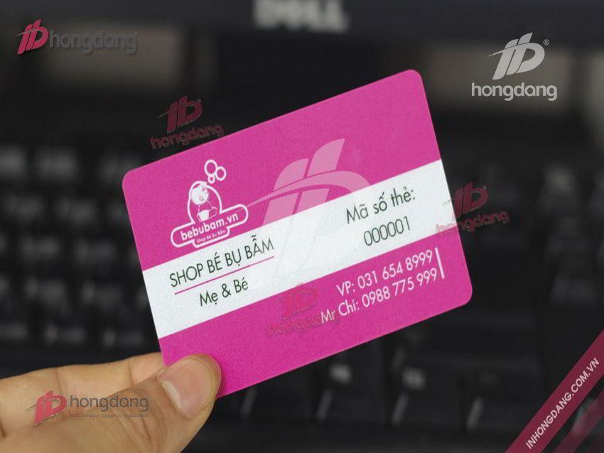 Giúp bạn gia tăng doanh số hiệu quả bằng in thẻ tích điểm