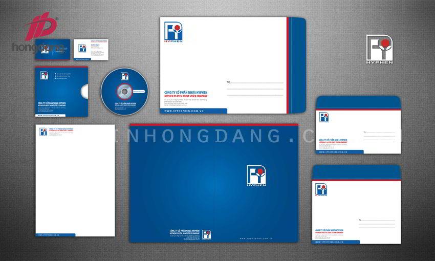 Thiết kế nhận diện thương hiệu gồm những món đồ gì?