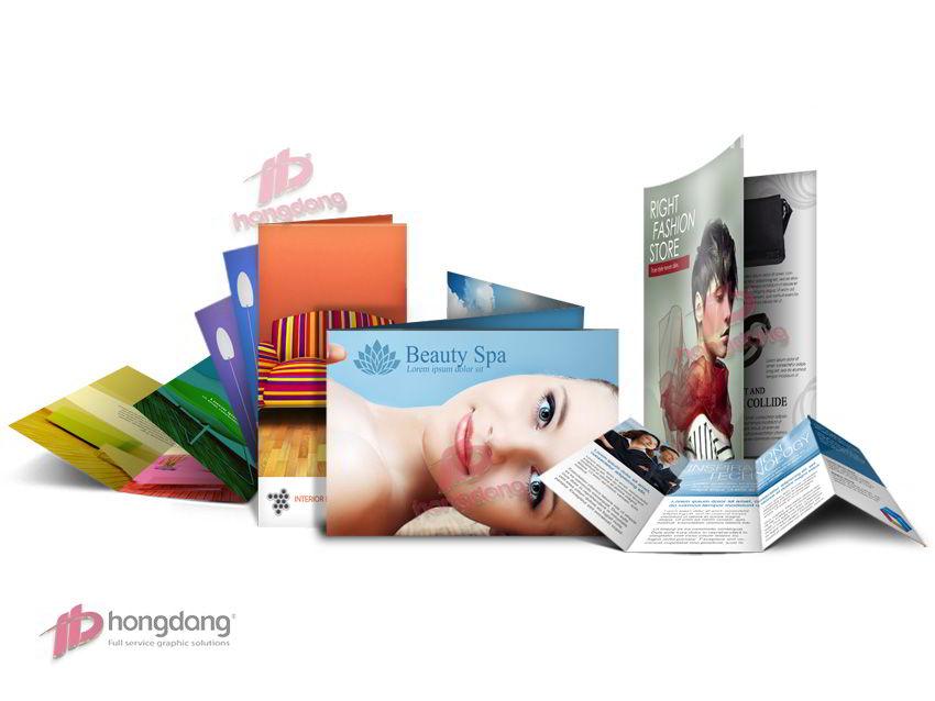 Kiến thức in brochure ai làm marketing cũng phải biết