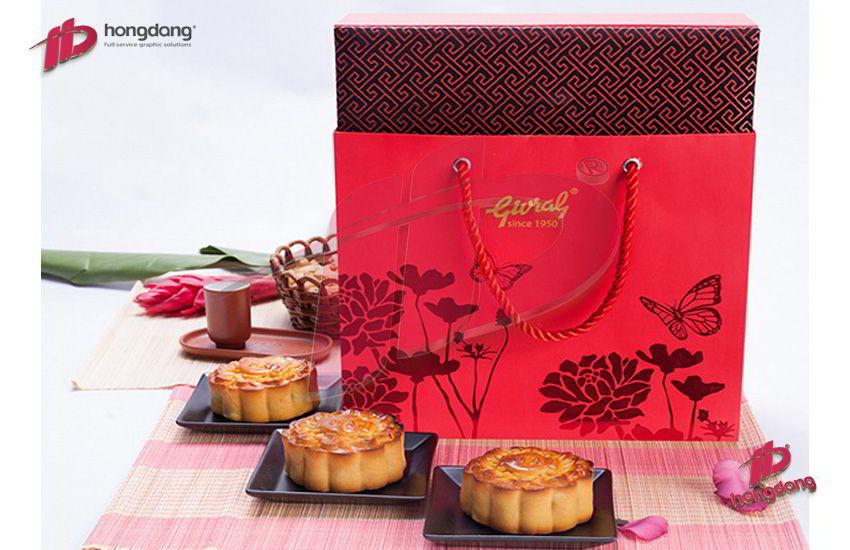 In túi giấy đựng bánh trung thu chất lượng số 1 Hà Nội