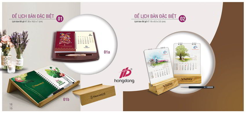 Thiết kế lịch độc quyền uy tín - chuyên nghiệp - giá rẻ tại Hà Nội