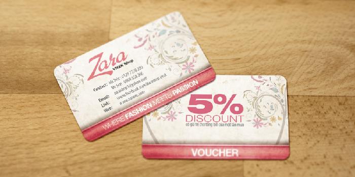 5 lợi ích đắt giá khi in thẻ tích điểm bạn chưa biết