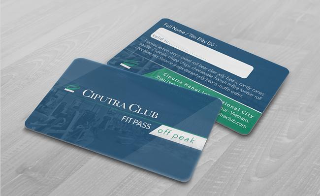 In thẻ thành viên miễn phí thiết kế