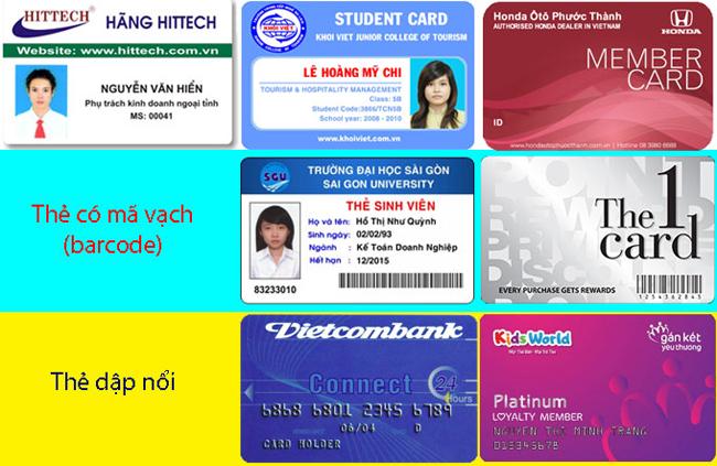 In thẻ nhựa giá rẻchiến lược khôn ngoan của các doanh nghiệp