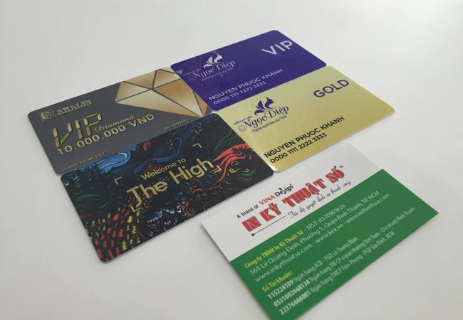 Hồng Đăng dịch vụ in thẻ nhựa chất lượng cao tại Hà Nội