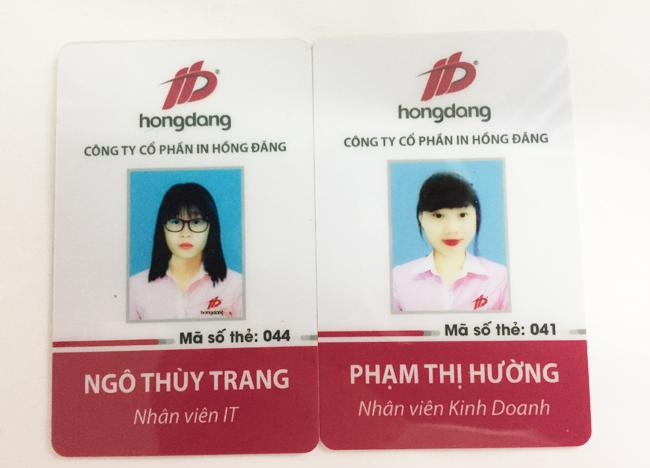 Vì sao dịch vụ in thẻ nhựa nhân viên tại Hà Nội phát triển
