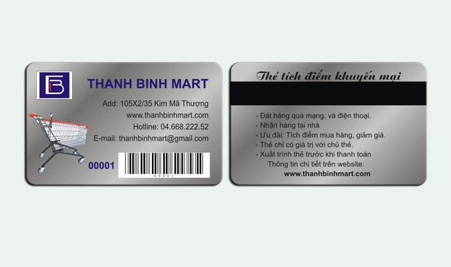 In thẻ tích điểm tuyệt chiêu kinh doanh không nên bỏ quả