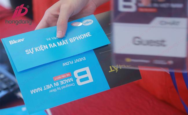 In vé sự kiện lấy ngay tại Hà Nội