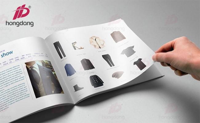 Tư vấn in catalogue trên khổ giấy A5 cực đẹp