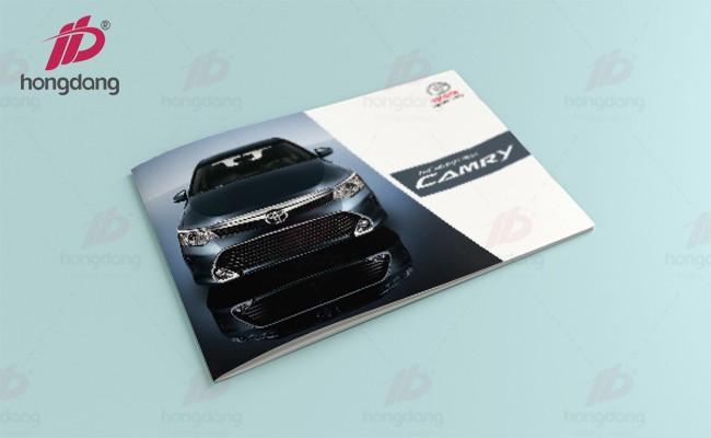 In catalogue giới thiệu showroom ô tô tại Hà Nội