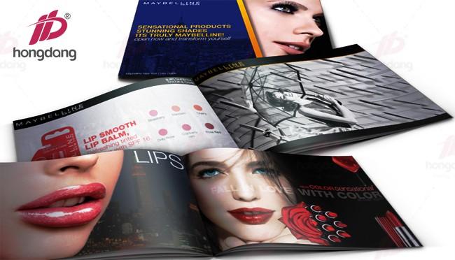 Nhận in các cuốn catalogue các hãng mỹ phẩm làm đẹp