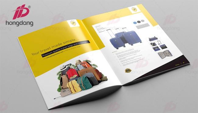 Cách hướng dẫn cụ thể về trình bày bố cục một cuốn in catalogue chất lượng