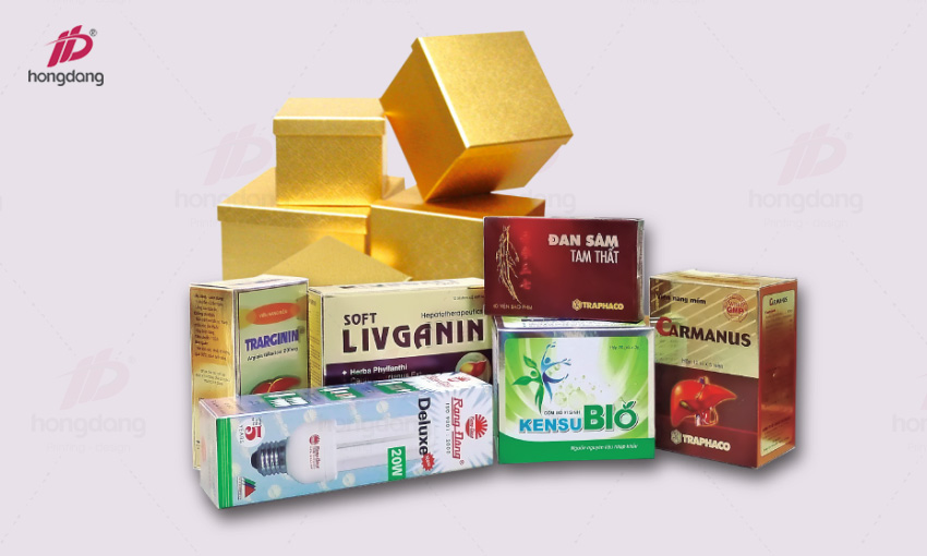 In hộp giấy bao bì sản phẩm theo yêu cầu