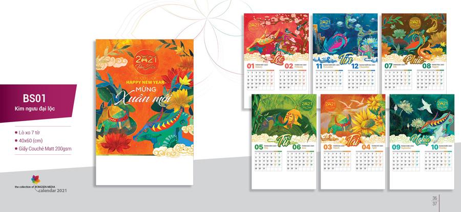 In ấn Lịch Tết tại Quận Thanh Xuân