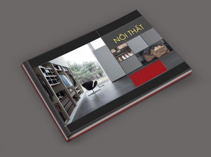 6 mẫu catalogue công ty nội thất đơn giản, tinh tế