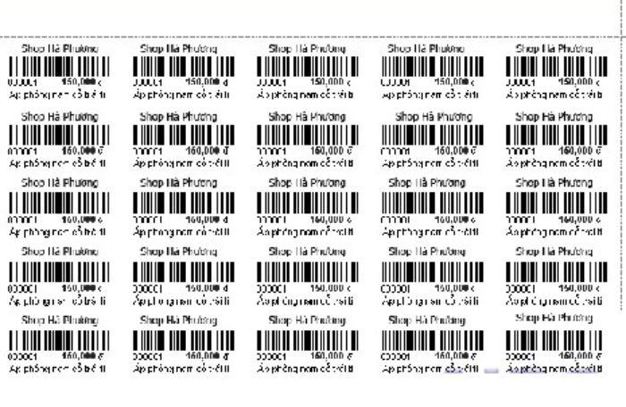 Cách làm tem nhãn trong word 2010