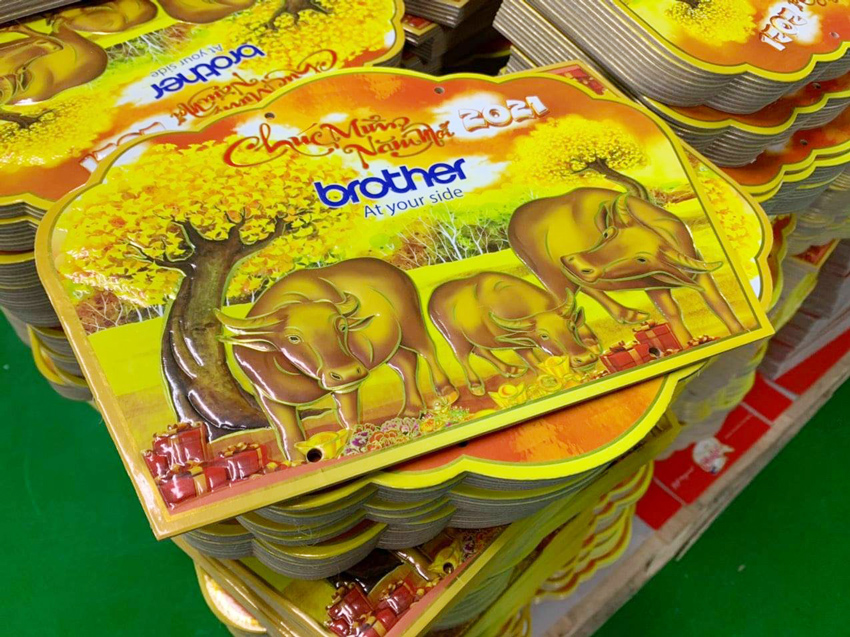 In lịch Bloc độc quyền giá rẻ tại Hà Nội