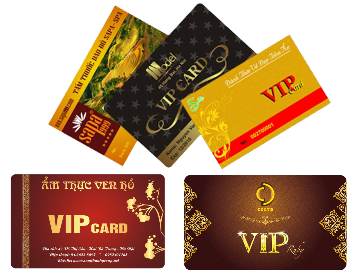 Phân loại thẻ VIP cho từng đối tượng khách hàng