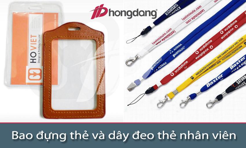 In Hồng Đăng cung cấp bao đựng thẻ và dây đeo thẻ chuyên nghiệp - uy tín - giá rẻ
