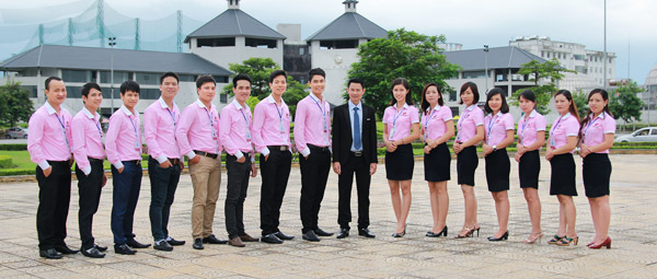 Đội ngũ nhân viên công ty In Hồng Đăng