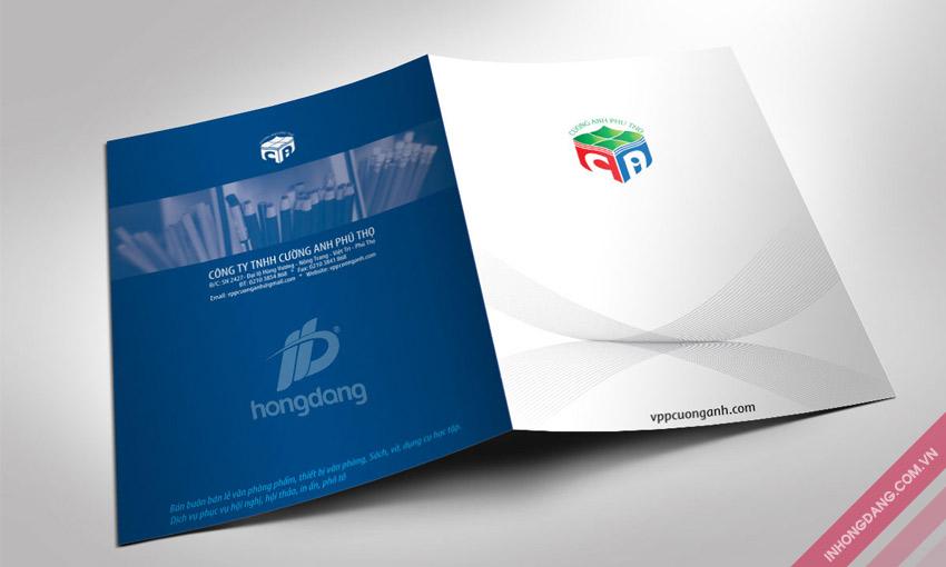 In kẹp file với các dịch vụ gia công tăng tính thẩm mỹ cho sản phẩm