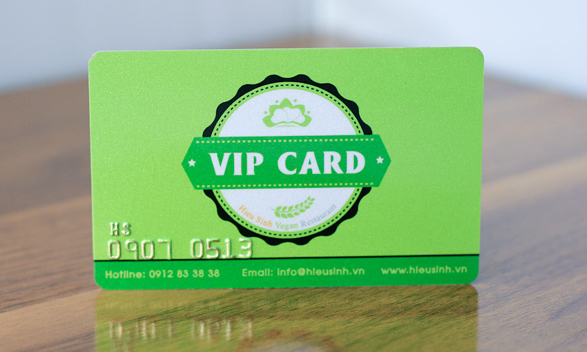 In thẻ VIP