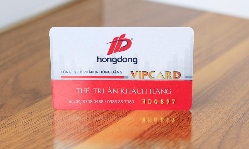 Thẻ VIP Hồng Đăng