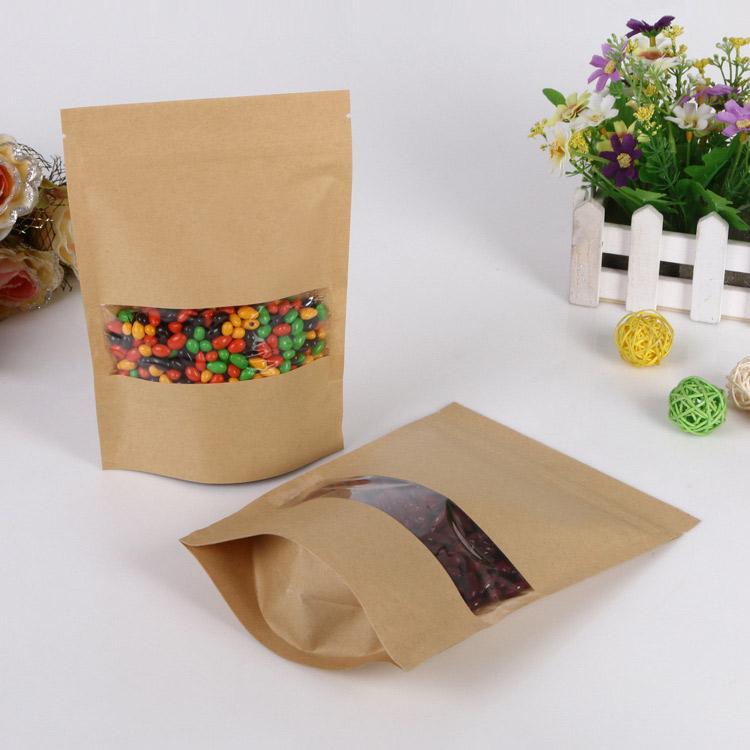 Mẫu túi giấy Kraft đựng kẹo