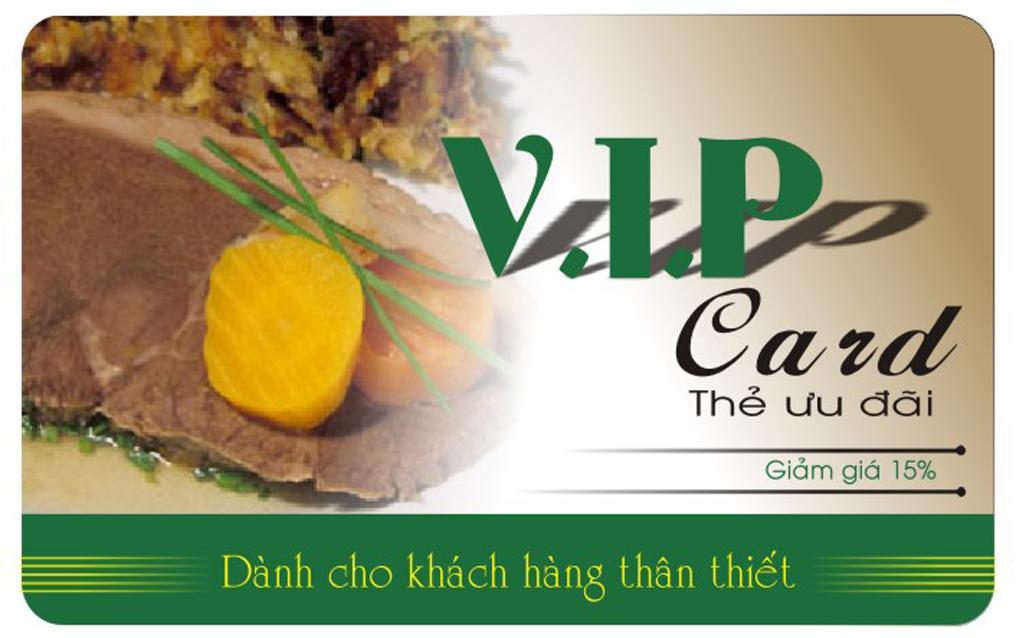 Đặt in thẻ VIP chất lượng nhất