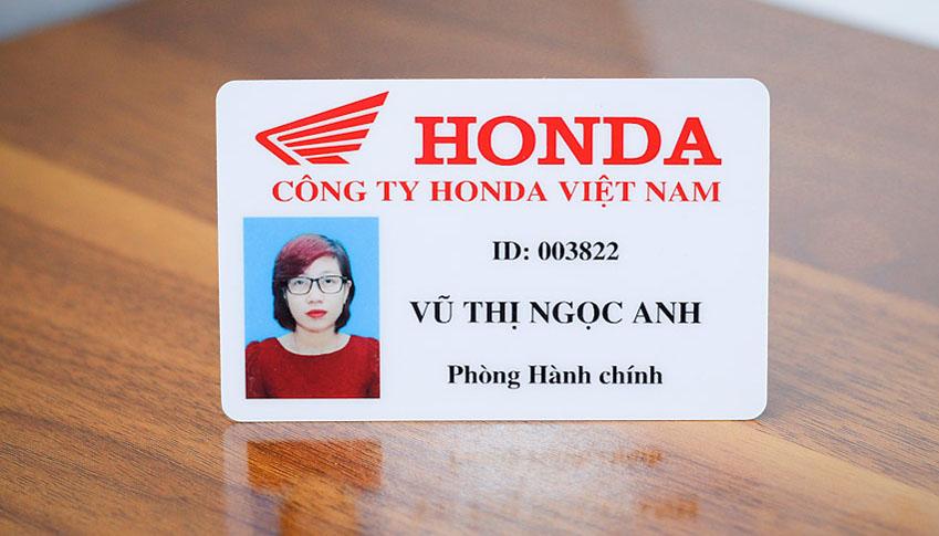 thẻ nhân viên đẹp